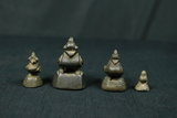 4 Small Stone Figurines