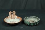 Seahorse Soap Dish & Bowl