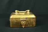 Brass Candle Box