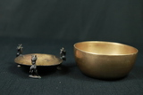 Brass Bowl On Stand