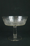 Glass Footed Compote