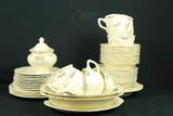 Homer Laughlin Virginia Rose China Set