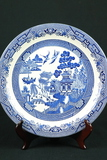 Churchill England Blue Willow Plate
