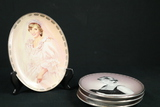 4 Princess Diana Plates