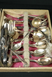 3 Flats Of Assorted Silver Plated Flatware