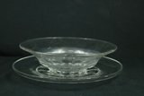 Glass Bowl & Plate