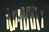 Assorted Pieces Of Univeral Flatware