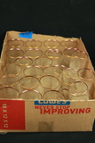 Box Of Gold Rimmed Glasses