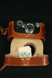 Vintage Argus Camera In Leather Case