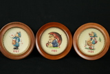 Set Of Hummel Plates From 1971-1995