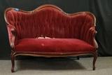 Victorian Sette Love Seat