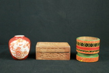 Ginger Jar, Trinket Box, & Pestle