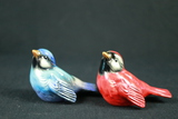 Pair Of Goebel Bird Figurines