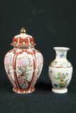 Oriental Vase & Oriental Jar