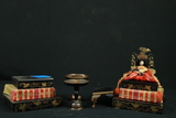 Oriental King And Queen Figurines