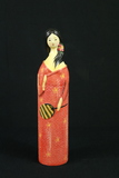 Oriental Wine Bottle Cover