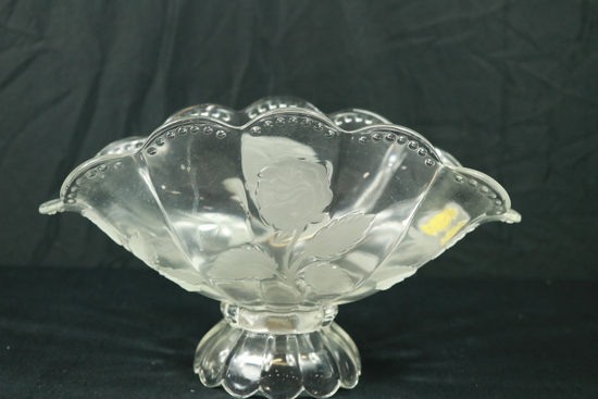 Imperlux Crystal Fluted Bowl