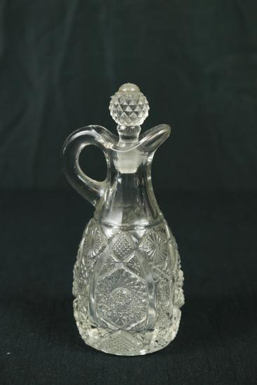 Pressed Glass Cruet