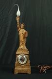 Statue Of Liberty Clock Lamp Combo