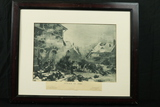 Attack By Fire Framed Print