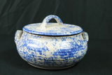 Pottery Covered Bowl