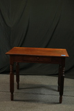 Victorian Oak Table With Drawer