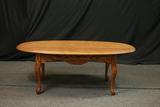 Oval Oak Coffee Table