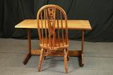 Oak Computer Desk & Chair