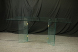 Glass Top Table With Glass Base