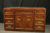 Thomasville Server With Flip Top & Storage For Table Leaves