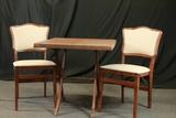 Folding Card Table & 2 Folding Chairs