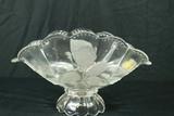 Imperlux Crystal Fluted Bowl