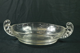 Double Handled Glass Bowl