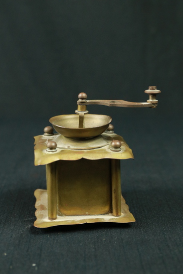 Early 1900's Brass Nut Grinder