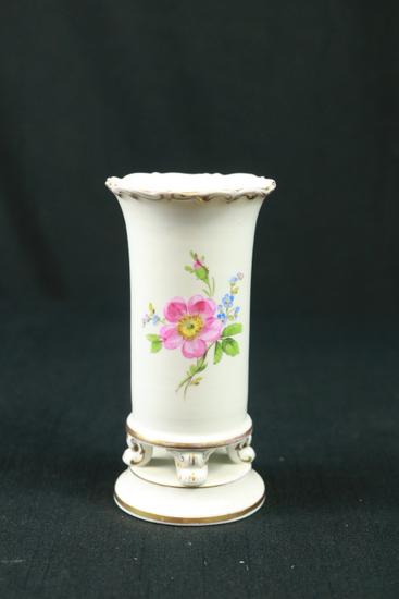 Meissen Hand Painted Vase