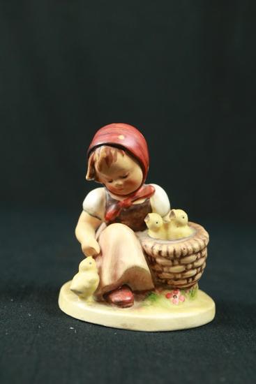 Pre WWII Hand Painted Hummel Figurine
