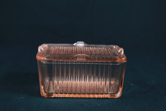 Depression Glass Refrigerator Box