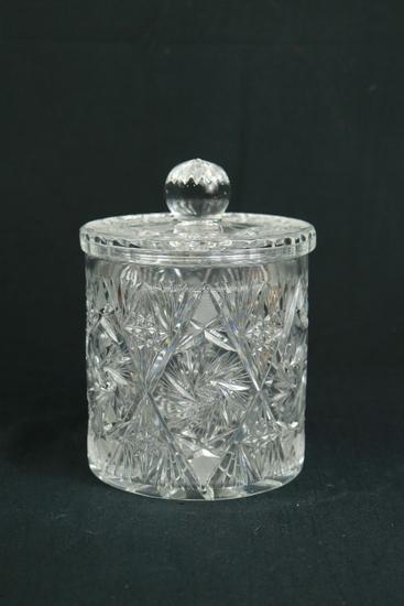 Crystal Cookie Jar