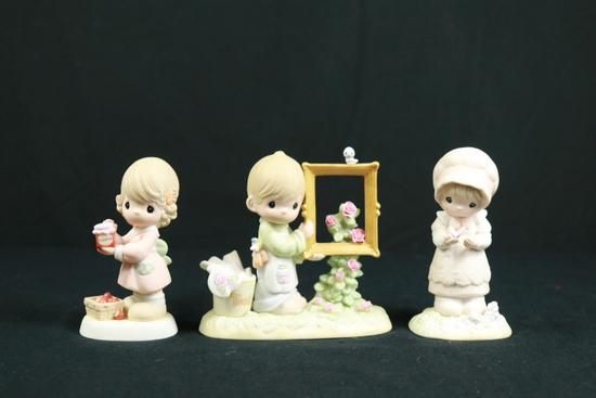 3 Precious Moments Figurines
