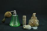 2 Perfume Bottles & A Lighter