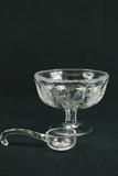 Glass Bowl & Ladle