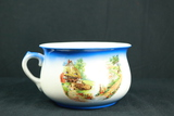 Single Handled Bowl With Farm Scene