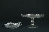 Handled Tray & Glass Stand
