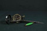 Lead Pencil, U.S Army Compass, & Metal Rifle