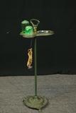 Deco Smoking Stand With Light