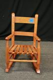 Oak Child's Rocking Chair