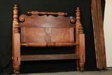 Cherry & Mahogany 19th Century Bed
