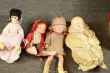Box Of Old Dolls