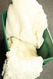 2 Single & 1 Full Crocheted Blankets