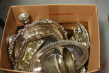 Box Of Silver Plate